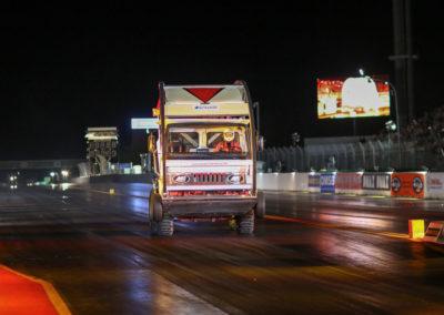 Truck stuntman