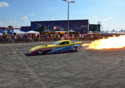 dragster flamme