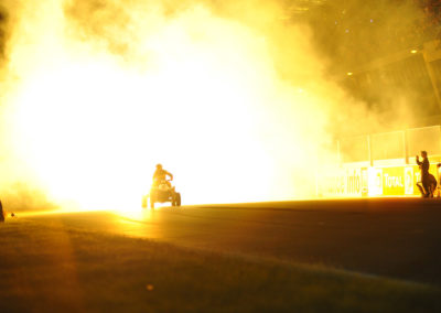 dragster quad flamme