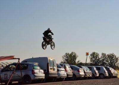 Motocross acrobatics