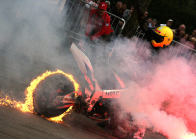 motorbike fireburn