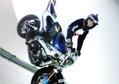 Motorbike acrobatics